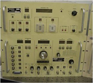 American Electronic Laboratories-1180 Frequency Converter/Attr-2193 receiver combination